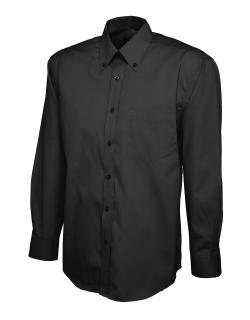 Mens Pinpoint Oxford Long Sleeve Shirt