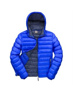 Mens Urban Snow Bird Hooded Jacket